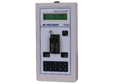 Model 570A analog hand held IC tester