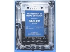 Saflec range of tramp metal detector
