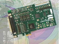 Dual stream HPx-400e PCI Express radar acquisition card