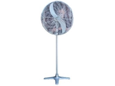 Pedestal fans keeping cool this summer