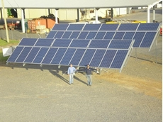 Dual Axis Solar Trackers now availab le from Upton Engineering Pty Ltd