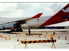 Uretek re-levels taxiways at Qantas Sydney Jet Base using resin injections