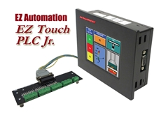 EZAutomation Combined Touch Screen Operator Interfaces and PLCs from Uticor AVG