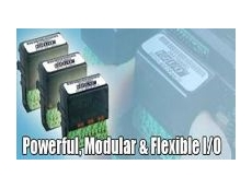 Powerful, modular and flexible I/O