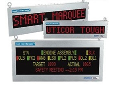 Uticor Tough SmartMarquee LED message display signs