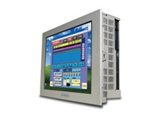 Xycom light duty panel industrial computers have a TFT touch screen display