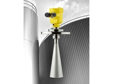 Level measurement for bulk solids silos up to 30 m high – Vegapuls SR 68 radar sensors