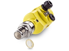 Introducing VEGAPULS 64, the first radar level sensor on the market for liquids that measures at a frequency of 80 GHz.