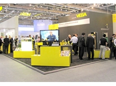 Vegaflex Series 80 guided radar sensors were on display at Achema