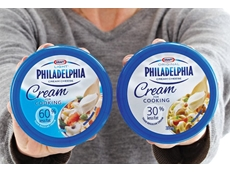 The new Philadelphia packaging range.