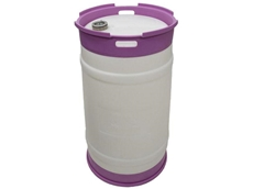 EcoDrum plastic drums can be reused for up to eight years