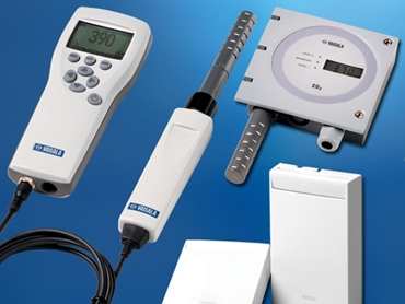 Carbon dioxide sensors and transmitters