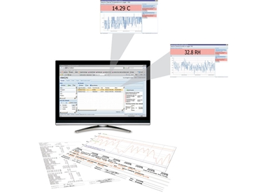 Custom reports with Vaisala continous monitoring systems