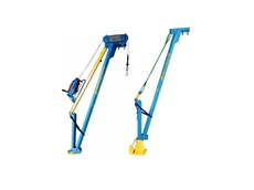 Aluminium portable davits from Vector Lifting