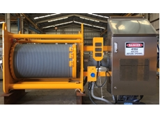 Conveyor Take Up Winches for Mining Applications by Vector Lifting