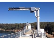Mundaring Weir Jib Crane