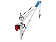Ultralight Porta-Davit Quantum cranes with 600kg WLL