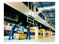 Urban rail underfloor lifting system