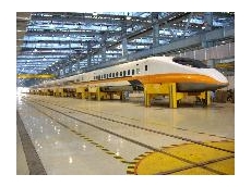Vector Lifting's maintenance equipment for Taiwan High Speed Rail Corporation