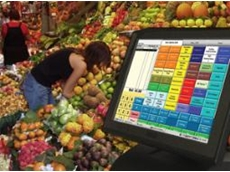 Advanced POS system for fruit and veg stores