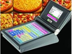 Mini touchscreen POS system