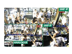The extremely flexible setup of the surveillance system allows integration with a number of different cameras