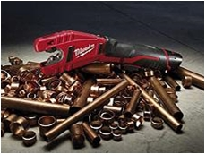 Milwaukee's new M12 Copper Pipe Cutter