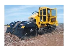 Vermeer Terrain Leveler surface excavation machine