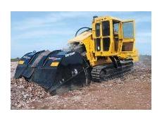 Vermeer Terrain Leveler surface excavation machine