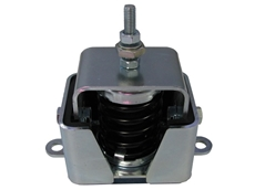 Anti seismic mini anti vibration mounts for small load applications