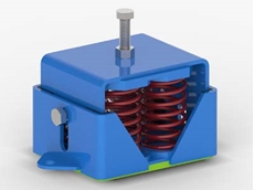 Vibrabsorber VSH anti-seismic spring mounts for failsafe performance