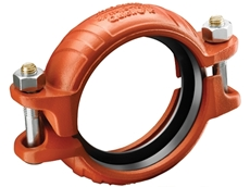 The couplings are flexible and rigid