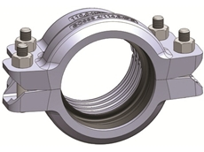 The coupling simplifies transitions with one mechanical joint.