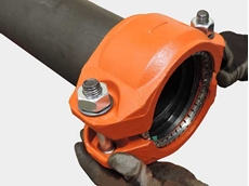 Victaulic Style 905 coupling for joining HDPE pipes