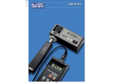 HD8701 portable sound level meters stocked by W & B Instruments