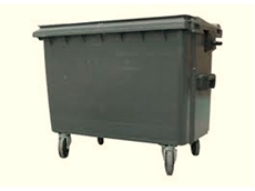 WJ Waste 1100L Cardboard, Paper and General Waste Bins