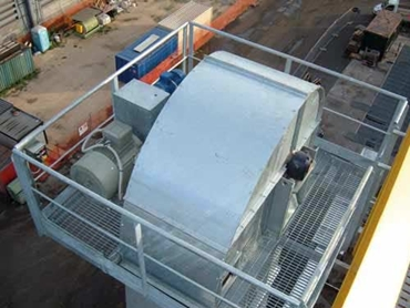 Bucket elevators bulk materials handling