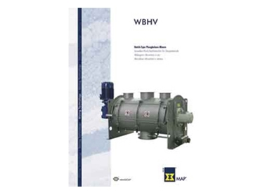 Horizontal single shaft mixers from WAM Australia