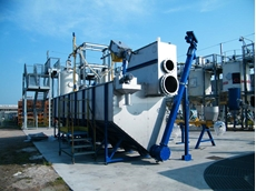 SPECO WASTEMASTER TSF V01 available from WAM Australia for Mechanical Wastewater Pre-Treatment