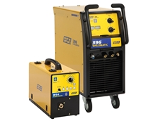 This 396 Amp three phase MIG welder is ideal for all general industrial fabrication applications