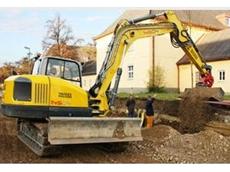 Compact excavator from Wacker Neuson