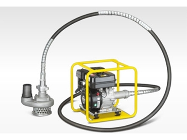 Flexible and long reaching design, PF Trash Pumps are suitable for lowering into manholes