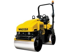 Ride On Twin Drum Rollers by Wacker Neuson
