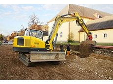 Wacker Neuson 14504 compact excavator