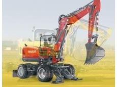 Wacker Neuson mobile excavator 9503
