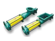 Progressive cavity grout pumps