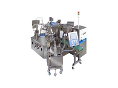 The Toyo Jidoki TT-10D-F automatic side gusset pouch packaging machines is available from Walls Machinery