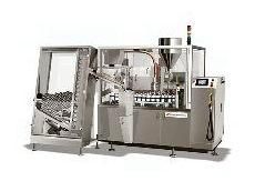 Nordenmatic 902 automatic tube filling and sealing machine.