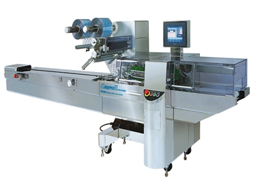 Fuji Alpha VII Horizontal Flow Wrapper: Currently Available from Walls Machinery