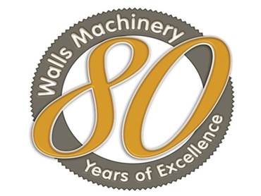 Walls Machinery 80 years of excellence